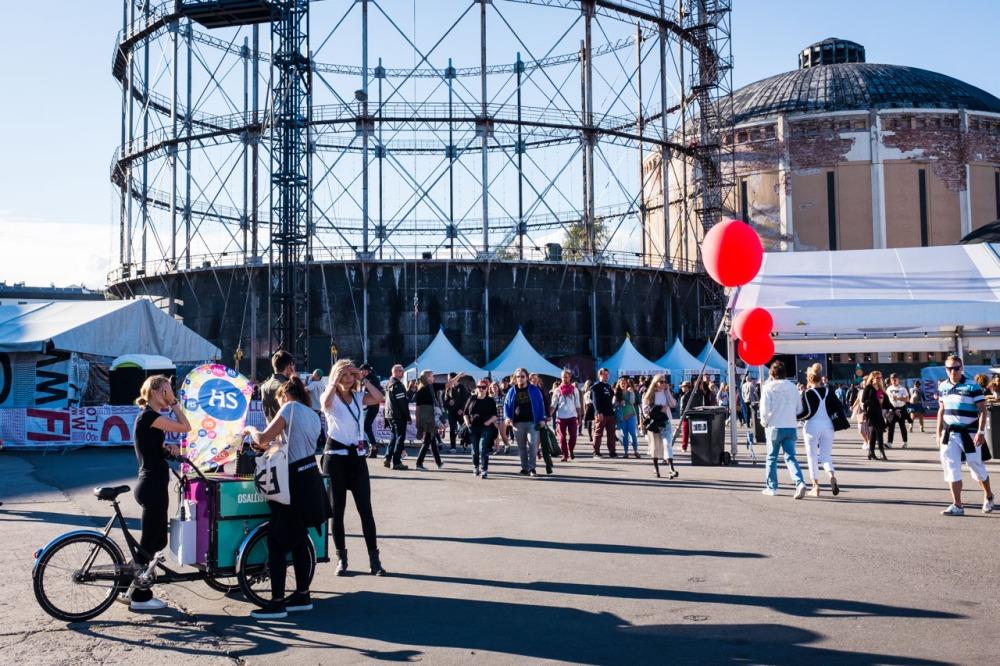 Suvilahti Flow festivaali 2016 kaasukellot