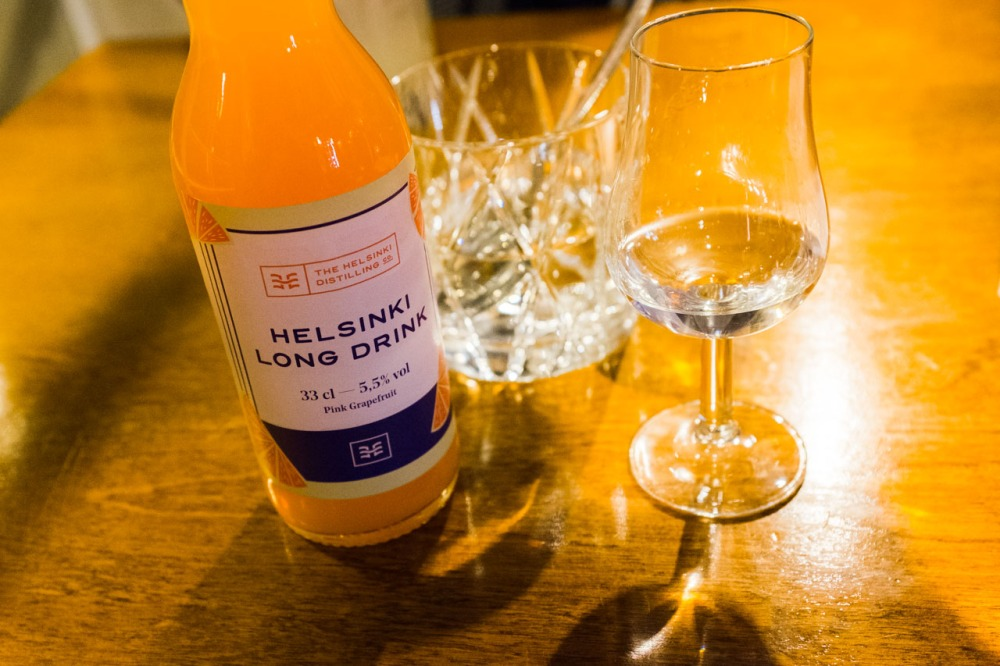 Helsinki Long Drink - Tislaamo Distillery Bar