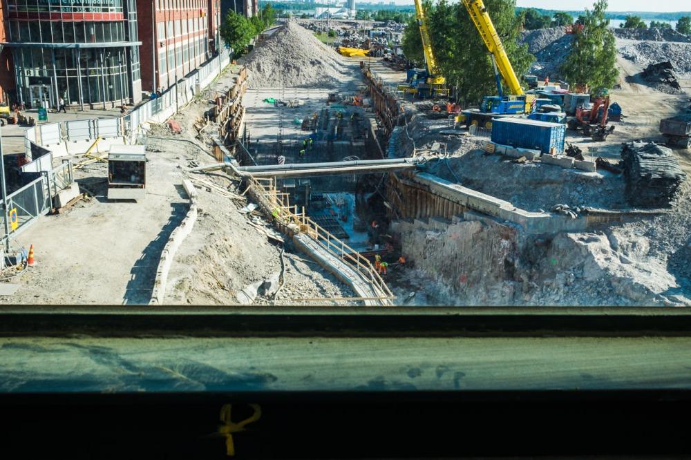 Kalasataman metroasemalta pohjoiseen 31.5.2016