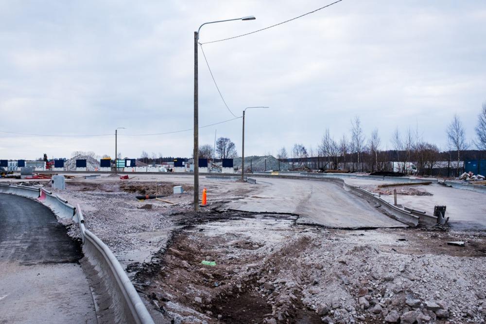 Uutta Helsinkiä ja rakentamista Verkkosaaren alueella Kalasatamassa