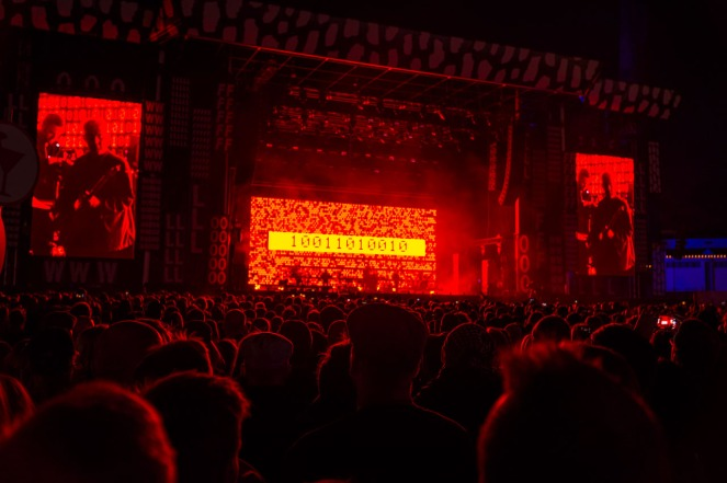 Massive Attack and Young Fathers at Flow festival 2016