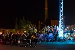 Planet Suvilahti taiteiden yönä Kalasatamassa Helsingissä 2017